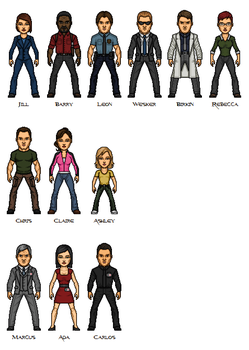 Resident Evil: The Series by Bry-Sinclair