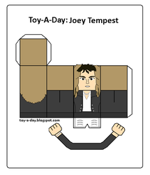 Toy-a-day Joey Tempest by GrapefruitFace1