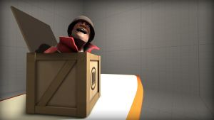 Soldier in a box by Nikolad92