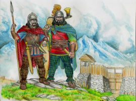 Celtic warlords by danbrenus