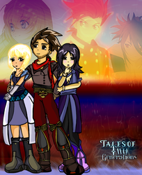 Tales of 2 Generations Side 1 by shinneth