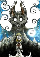 The Boy and the Wolf by Inky-Shade