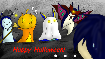 Happy Halloween 2014 fellow Slugterrans! by Drazugan