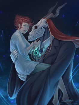 The Ancient Magus' Bride by SigneRJArts