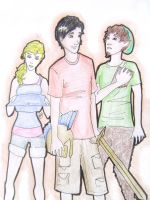 Percy Jackson and Co. by Murbur14