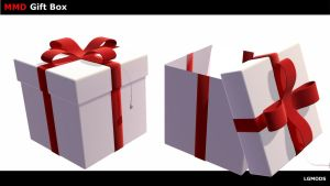 [MMD DL] Gift Box (Props Download) by LGMODS