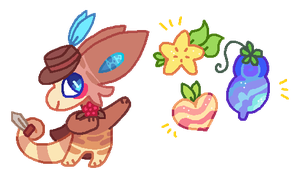 I Love These Berries by bubble-catt