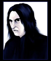 Look Snape Always Gives Harry by A3ulez