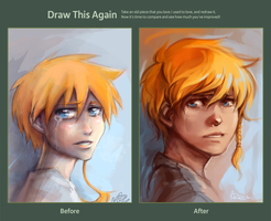 Draw This Again: I cry too much by Anyarr