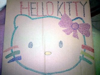 Hello Kitty Hatching by jesska1
