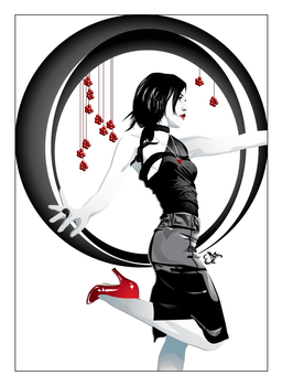 Red Pumps by Double-Edged-Sword