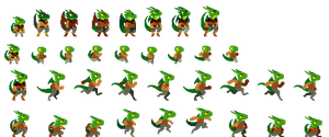Old Dragorogue Sprites by DragonDePlatino