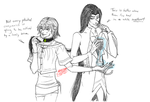 EA-LEC:  crack pairing MADNESS (weekly prompt) by Absolute-Sero