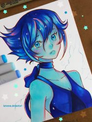 +Sad Lapis+ by larienne