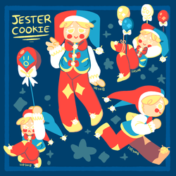 cookie run: jester cookie by m5w