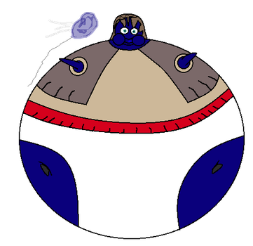 Hannah the Helium filled blueberry by BittyHeart