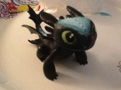 Alpha toothless toy by Dragonnerd906