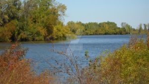Early Fall at the Lake by Taures-15