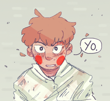 mp100 spoilers// hes back baby by iLee-Font