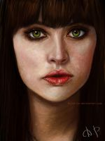 Felicity Jones by dijellie