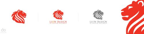 Lion design by BACEL
