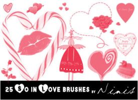 So in Love Brushes by Ninis