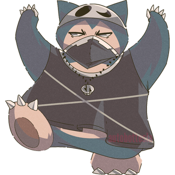 Team Skull Kabigon | Snorlax Commission by AutobotTesla