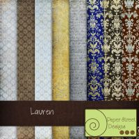 Lauren-paper street designs by paperstreetdesigns