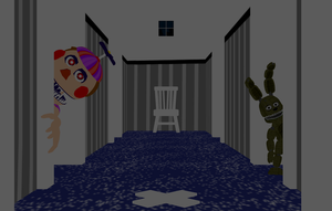 MMD- Plushtrap Hall (V2) (DL) by OscartheChinchilla