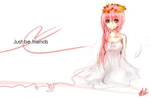 Just be Friends I by hebi-mamecafe