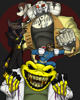 Cloudscratcher Teaser - Villains of Episode 4 by LordShmeckie