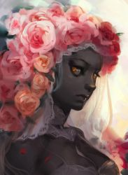 Dark Rose by Readman