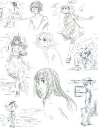 Sketch dump before some finals by Cotton-Keyk