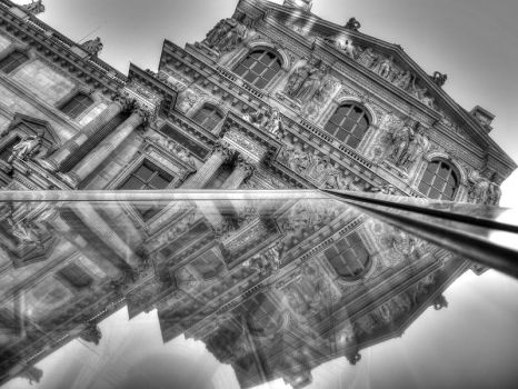 Paris - IX - Black and White by EVoLVeR-iNc