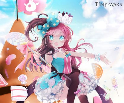 TinyWars Amy Poster (Candy Sister) by TinyWars