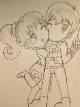 Catherianna and Kilala - Friends REQUEST by Hipeople4944