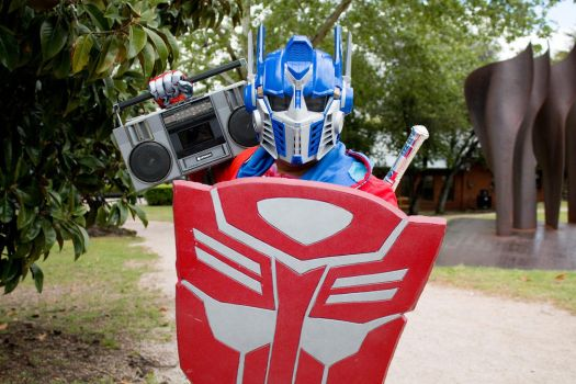 I as OPTIMUS PRIME by jamesimpalaDAeggman