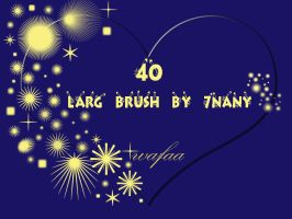 40 larg brush by 7nany