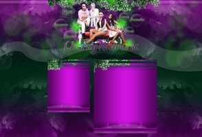 Cherry Universe's newest layout with Little Mix by BrielleFantasy