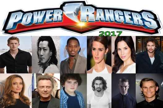 2017 Power Rnagers Movie Cast by kouliousis