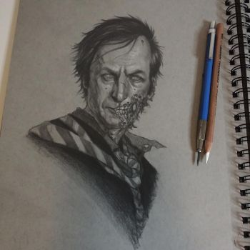 Zombie Saul by graphitenightmare