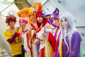 No Game, No Life by Haruhi-can