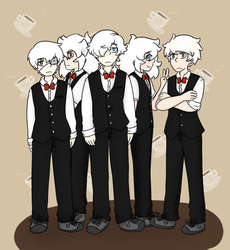 The Albino Host Cafe by CrazyPuff