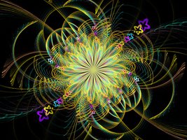 CMYK Flower - Apophysis Style by Timster91