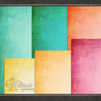 Juicy Fruit Papers by DaydreamersDesigns