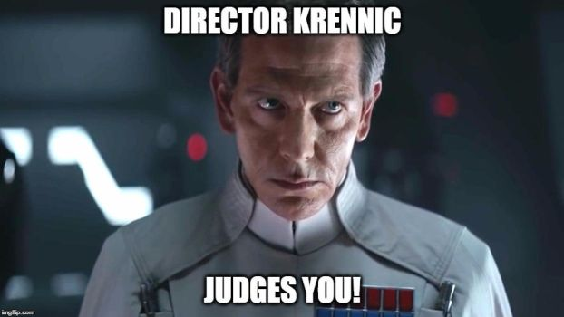 Director Krennic judges you! by GeneralMacek