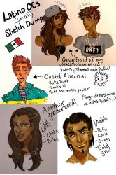 Latino Babies Sketch Dump (small) by DragonSmurf