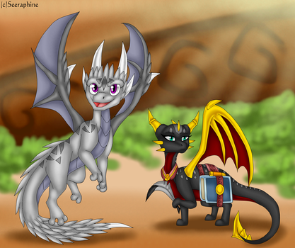 Aero and Leila :CM: by Seeraphine
