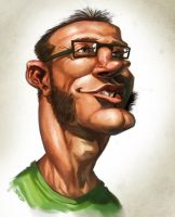 Caricature Madness 04 by poojipoo