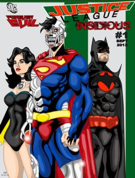 Justice League Insidious by man0ftomorrow